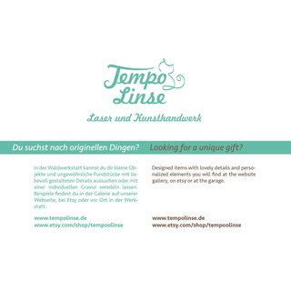 tempolinse flyer